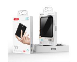 Внешний аккумулятор Power bank XO PB76 10000 mAh 2USB с дисплеем черный